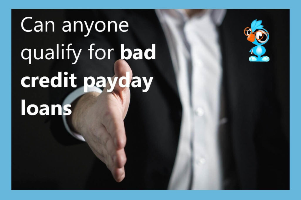 many applicants can qualify for a small loan even with a bad credit rating