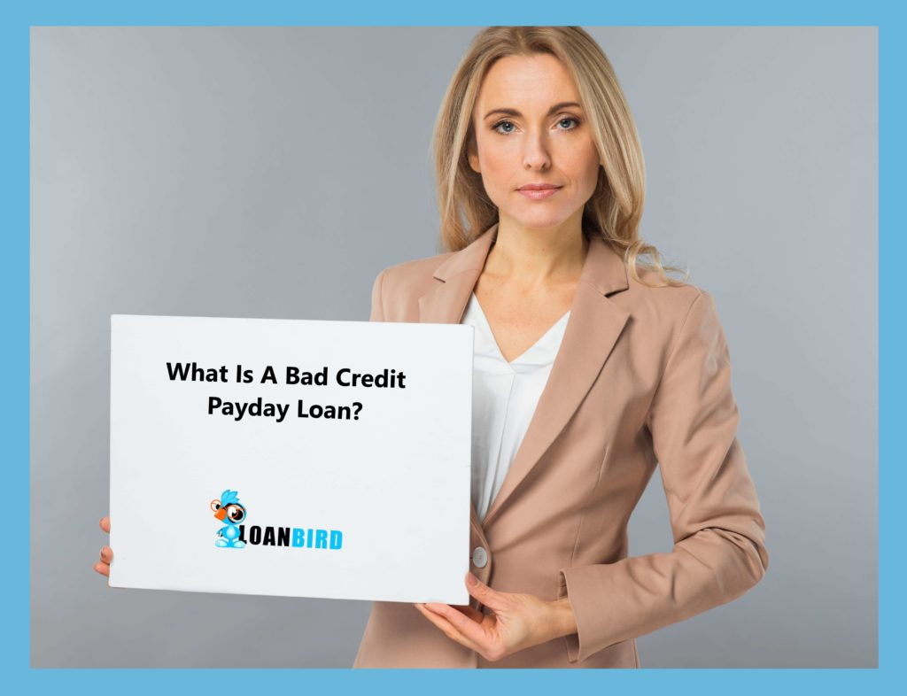 a pretty woman introducing what a bad credit payday loan is